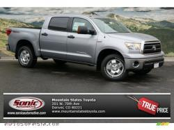 TOYOTA TRD TUNDRA silver