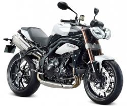 TRIUMPH 1050 SPEED TRIPLE white