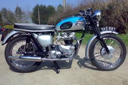 TRIUMPH BONNEVILLE 120 blue