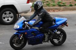 TRIUMPH DAYTONA 955I blue