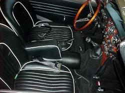 TRIUMPH GT6 MK III interior