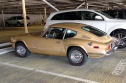 TRIUMPH GT6 brown