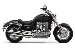 TRIUMPH ROCKET III white