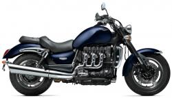 TRIUMPH ROCKET blue