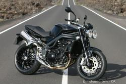TRIUMPH SPEED TRIPLE black