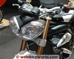 TRIUMPH SPEED TRIPLE silver