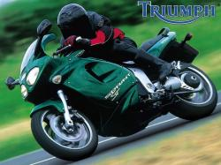 TRIUMPH SPRINT ST green