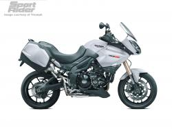 TRIUMPH TIGER 1050 SE white