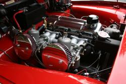 TRIUMPH TR3 engine