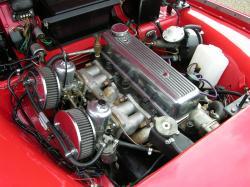 TRIUMPH TR3A engine