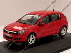 VAUXHALL ASTRA red