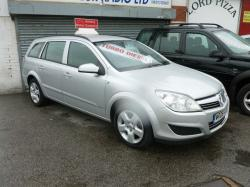 VAUXHALL ASTRA silver