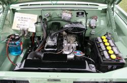 VAUXHALL CRESTA engine