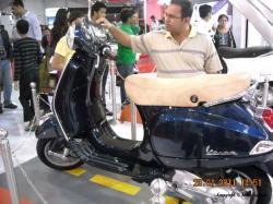 VESPA 125 blue