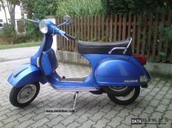 VESPA PX 125 blue