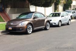 VOLKSWAGEN BEETLE brown