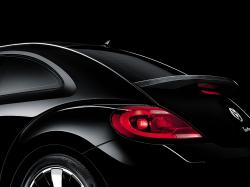 VOLKSWAGEN NEW BEETLE black