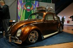 VOLKSWAGEN NEW BEETLE brown