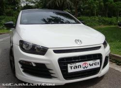 VOLKSWAGEN SCIROCCO 1.4 brown