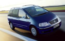 VOLKSWAGEN SHARAN blue