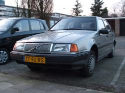 VOLVO 440 black