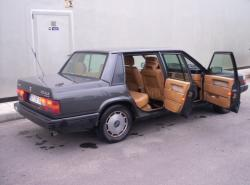 VOLVO 740 interior