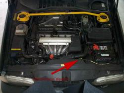 VOLVO S 70 engine