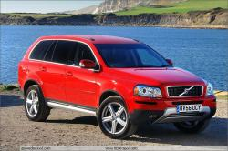 VOLVO XC90 red