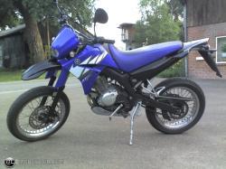 YAMAHA 125 RD blue