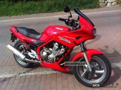 YAMAHA 600 DIVERSION red
