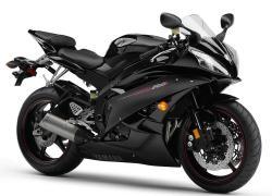 YAMAHA 600 R6 black