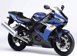 YAMAHA 600 R6 blue