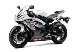 YAMAHA 600 R6 white