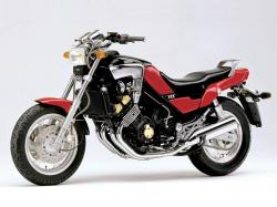 YAMAHA 750 FZX brown