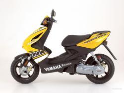 YAMAHA AEROX 50 black