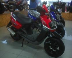 YAMAHA BWS red