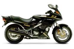 YAMAHA FJ 1200 green
