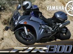 YAMAHA FJR silver