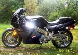 YAMAHA FZR 1000 silver
