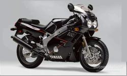YAMAHA FZR 600 silver