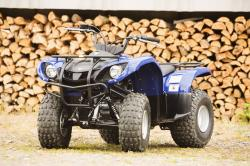 YAMAHA GRIZZLY 125 black
