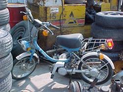 YAMAHA QT50 brown