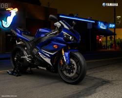 YAMAHA R1 blue