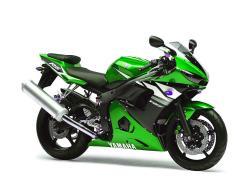 YAMAHA R6 green