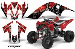 YAMAHA RAPTOR red