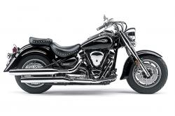 YAMAHA ROAD STAR black