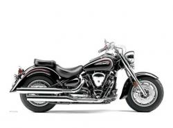 YAMAHA ROAD STAR green