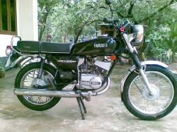 YAMAHA RX 100 black