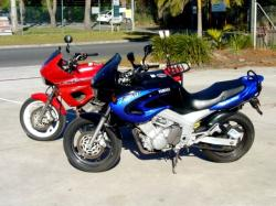 YAMAHA TDM 850 blue