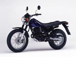 YAMAHA TW 125 brown